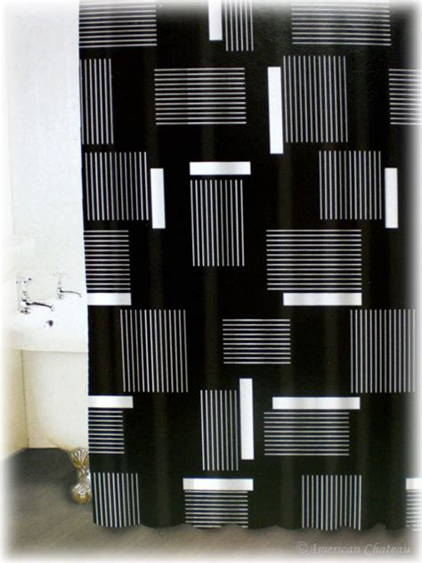 Black And White Shower Curtain Set by Black And White Shower Curtain Set Decor Ideasdecor Ideas