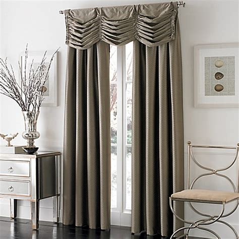 pinch pleat drapes bed bath and beyond otello honeycomb pinch pleat window curtain panel bed