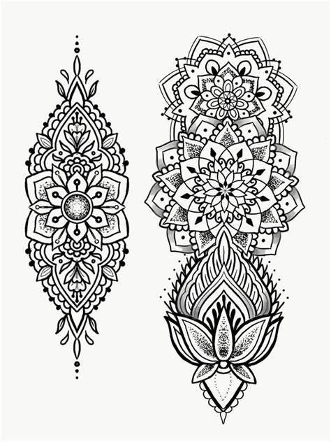 mandala tattoo flash book pin von tai speight auf creative tattoo sleeves