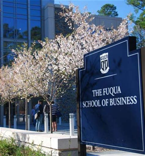 Black And Mba Organization Fuqua by Fuqua School Entrance