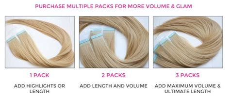 how many bulk packs of hair is needed to braid my hair 17 best images about tape in hair extensions on pinterest