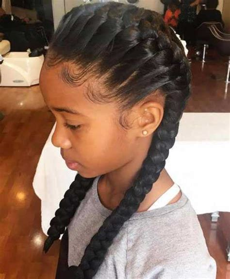 Black Braided Hairstyles 2017 by Cutest Black Hairstyles For 2017 Hairstylesco