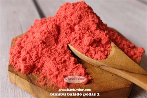 Bumbu Tabur Seasoning Powder Sambal Balado 2 balado pedas level 2 bumbu tabur bumbu snack bumbu keripik seasoning powder