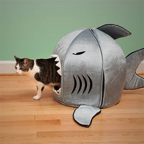 shark bed 25 awesome furniture design ideas for cat bored panda