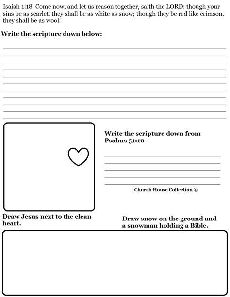 bible lesson plan template snowman sunday school lesson