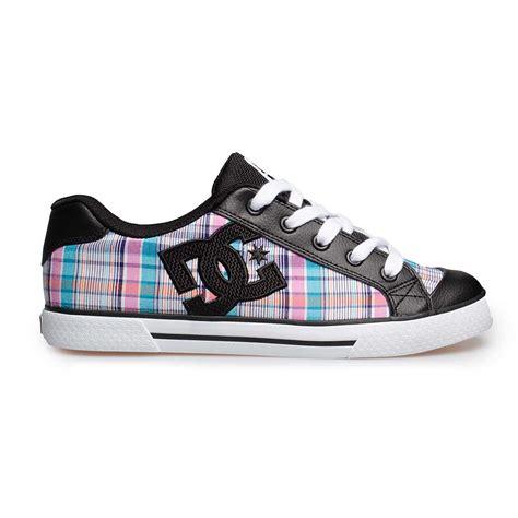 dc shoes uk womens skate canvas boots blue pink black
