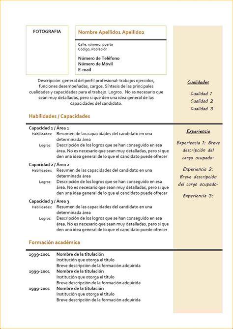 Mod Les De Lettre En Espagnol cv anglais exemple cv anglais exemple exemples cv