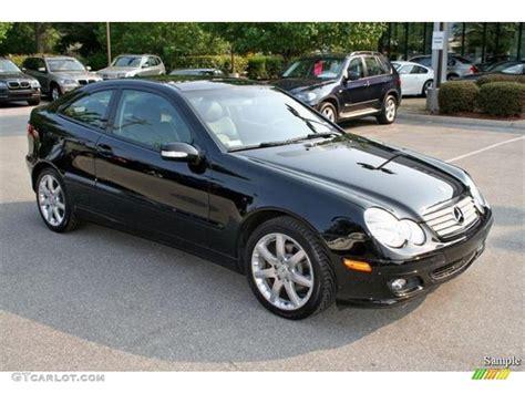2005 black mercedes c 230 kompressor coupe 5325019
