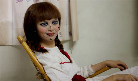 annabelle doll year november 2014 lynette makeup makeup