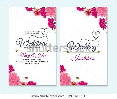 templates for wedding banners wedding invitation thank you card save the date cards