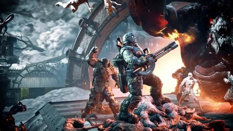 Xbox Gears Of War Launch gears of war 4 trailers xbox one ign