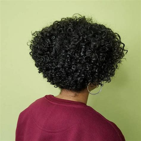 curly graduated bob haircut hairstyle 14 natural hairstyles for black women that will get you