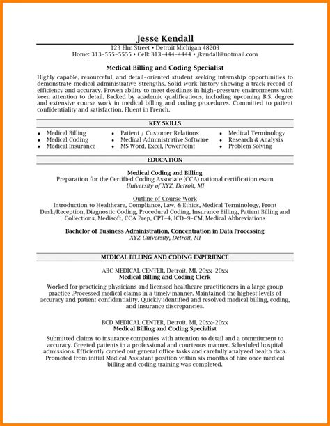 Cover Letter For Coding Position by Cover Letter For Billing Position Sle Travel Bill