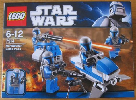 Lego Wars 7914 Mandolerian Battle Pack 1 lego wars set no 7914 mandalorian battle pack for
