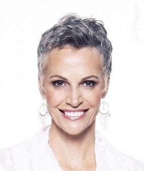 photo of striking gray hair this is striking and i am especially fond of her salt