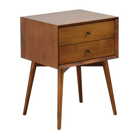 mid century bedside table acorn 38 off west elm west elm mid century acorn nightstand