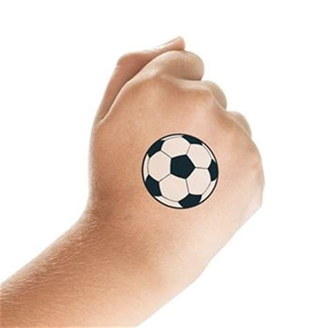 small soccer tattoos small soccer tattooforaweek temporary tattoos