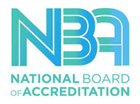 Of Mba Accreditation by Post Graduate Mba Nba Accreditation