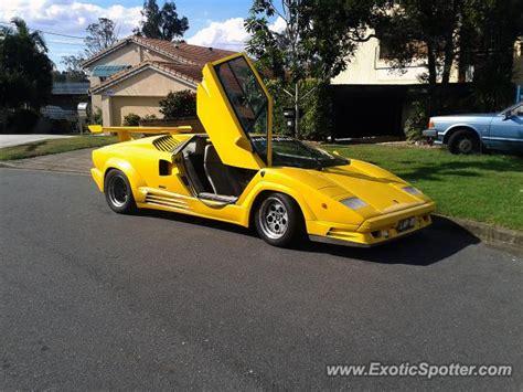 Brisbane Lamborghini Lamborghini Countach Spotted In Brisbane Australia On 05