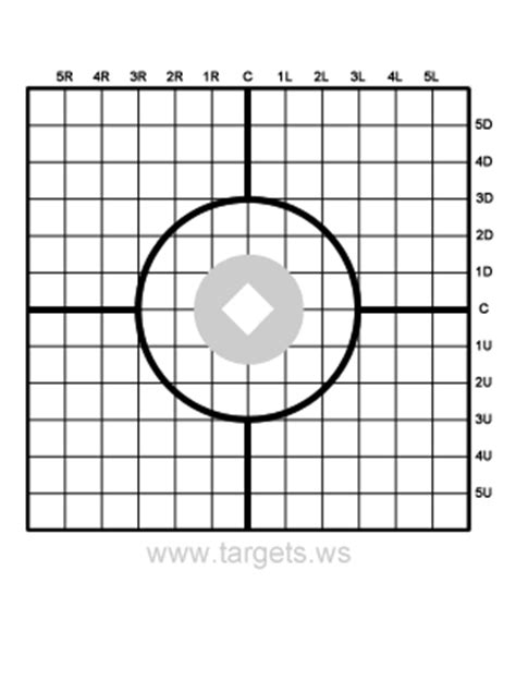 printable targets for sighting in a rifle targets print your own shooting targets
