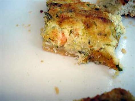 cuisiner morue dessal馥 recette de quiche morue et crevettes