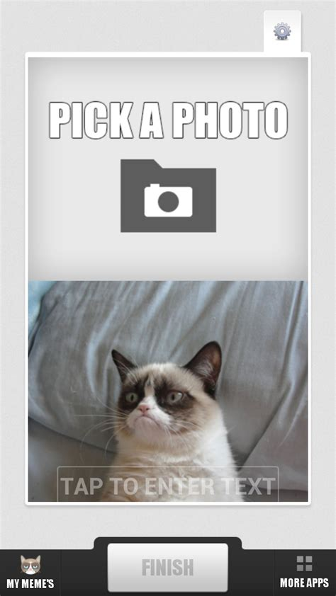 Meme Cat Generator - com grumpy cat meme generator appstore for android