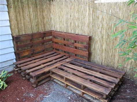 couch made with pallets sectional couch made from pallets pallets designs