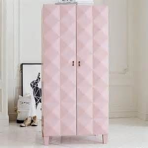 Pink Armoire by Brass Hardware Coral Pink Armoire