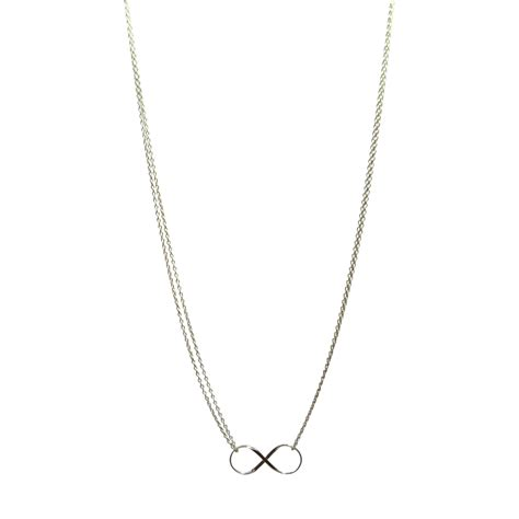 infinity charm necklace teepea