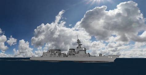 Hyuga Class Helicopter Destroyer Ship 11250 F Toys akizuki class destroyer 3d model dae skp cgtrader