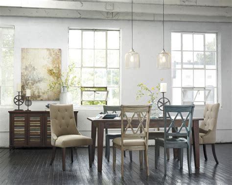 how to match furniture dining room chairs how to mix and match ashley furniture