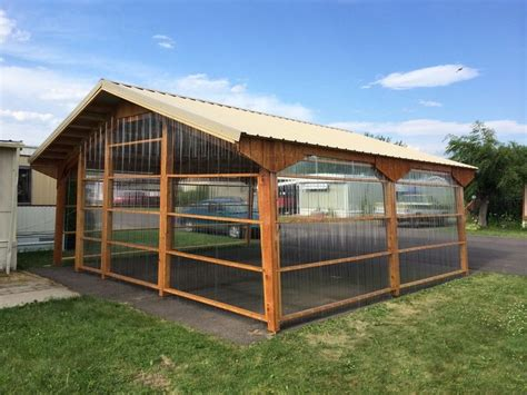 carport panels the greenhouse dandi carports can be sided and