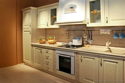 pictures of kitchens traditional whitewashed cabinets kitchen 4