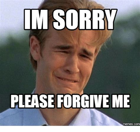 Apology Meme - im sorry please forgive me memes com memes com meme on me me
