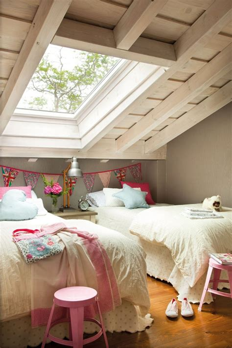 girl attic bedrooms