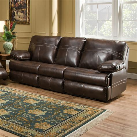 Sectional Sofa With Hide A Bed Simmons Upholstery 50981 04q Miracle Saddle Miracle Bonded Leather Hide A Bed Atg Stores