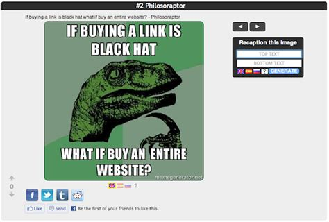 Lot Lizard Meme - how to use memes to build easy backlinks traffic moz