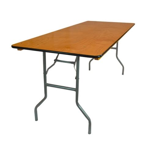 Folding 6 Foot Table 30 Quot X 72 Quot Wood Folding Banquet Table 6 Ft Folding Tables