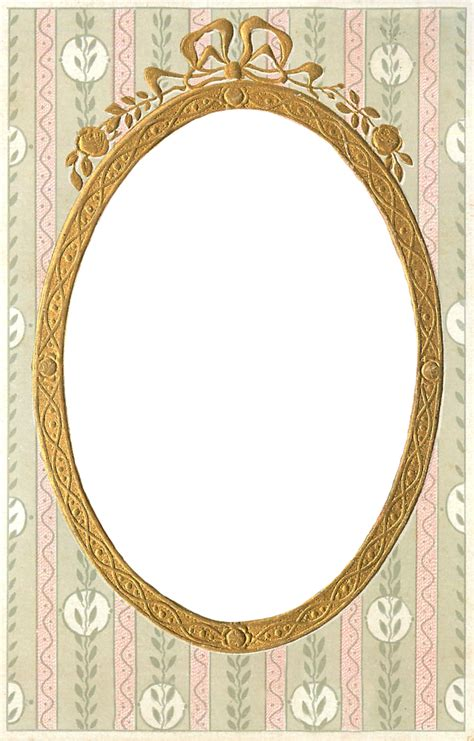 transparent oval frames 1908 vintage gilt frame free png file wings of whimsy