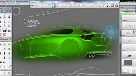 sketchbook pro wacom bmw sketches rendering sketchbook pro wacom intuos pro
