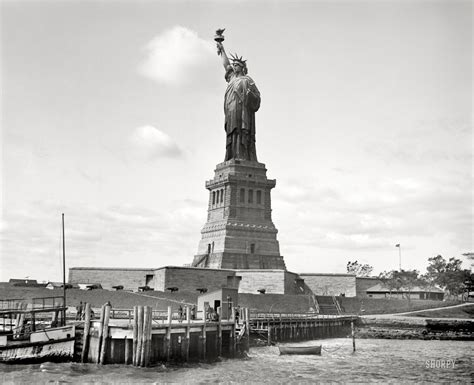 imagenes vintage libertad statue of liberty in 1905 cool old photos