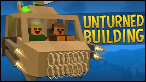 Unturned 3.0 Building   CUSTOM HELICOPTER & AIRPLANE
