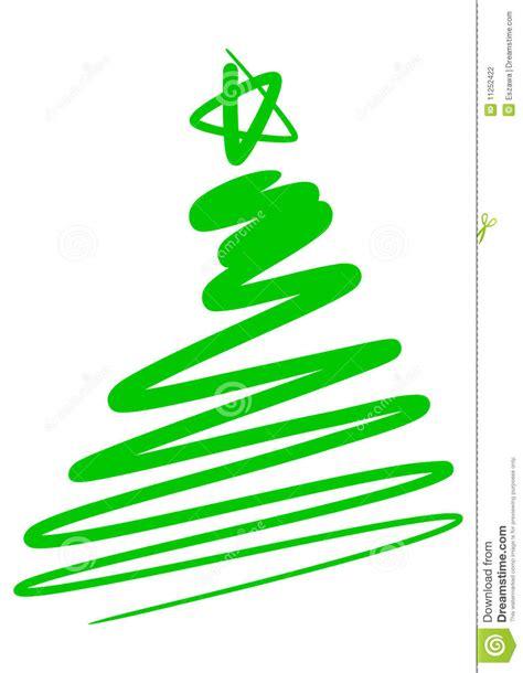 abstract christmas tree stock photography image 11252422