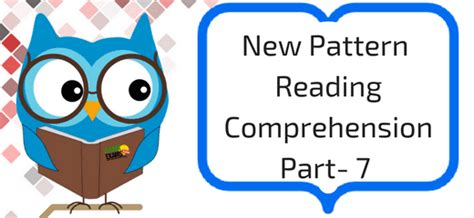 new pattern bank exam new pattern reading comprehension part 7 bank exams today