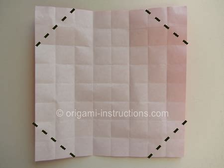 Checkered Origami - origami checkered folding