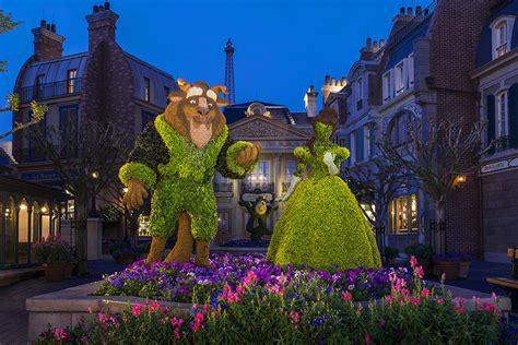 Disney Parks Disney Parks After Dark Epcot International Epcot International Flower Garden Festival