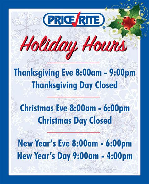 printable holiday hours signs print design on behance