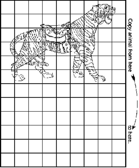 carousel animal contruction manual grid and scale