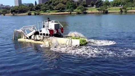 boat cleaner for algae this machine clean up the algae that grows on lake merritt