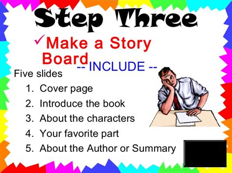 how to present a book report book report powerpoint